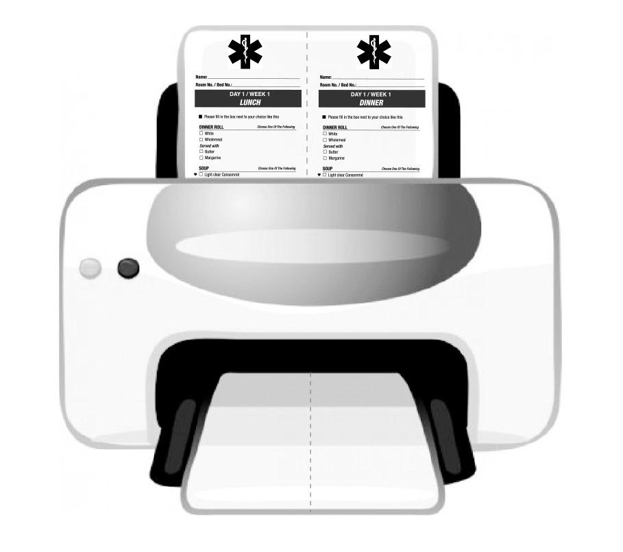 menuinprinter